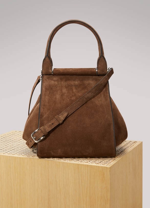 Max Mara Trapeze leather handbag