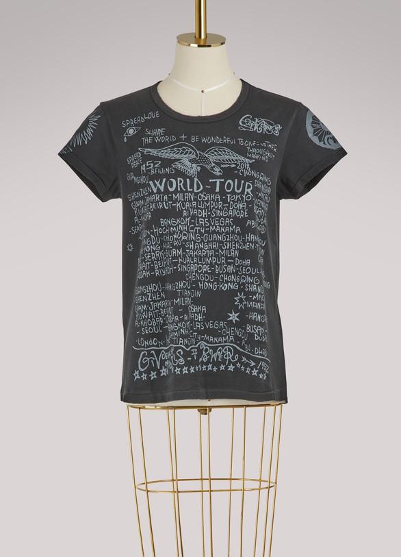 GivenchyT-shirt vintage Tour Date