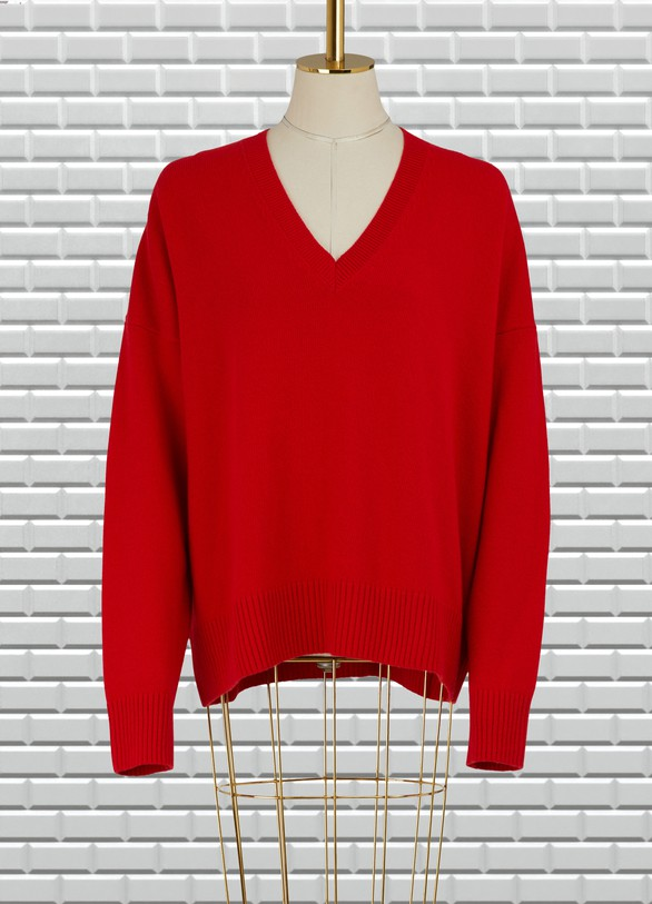 Ami Wool oversize sweater