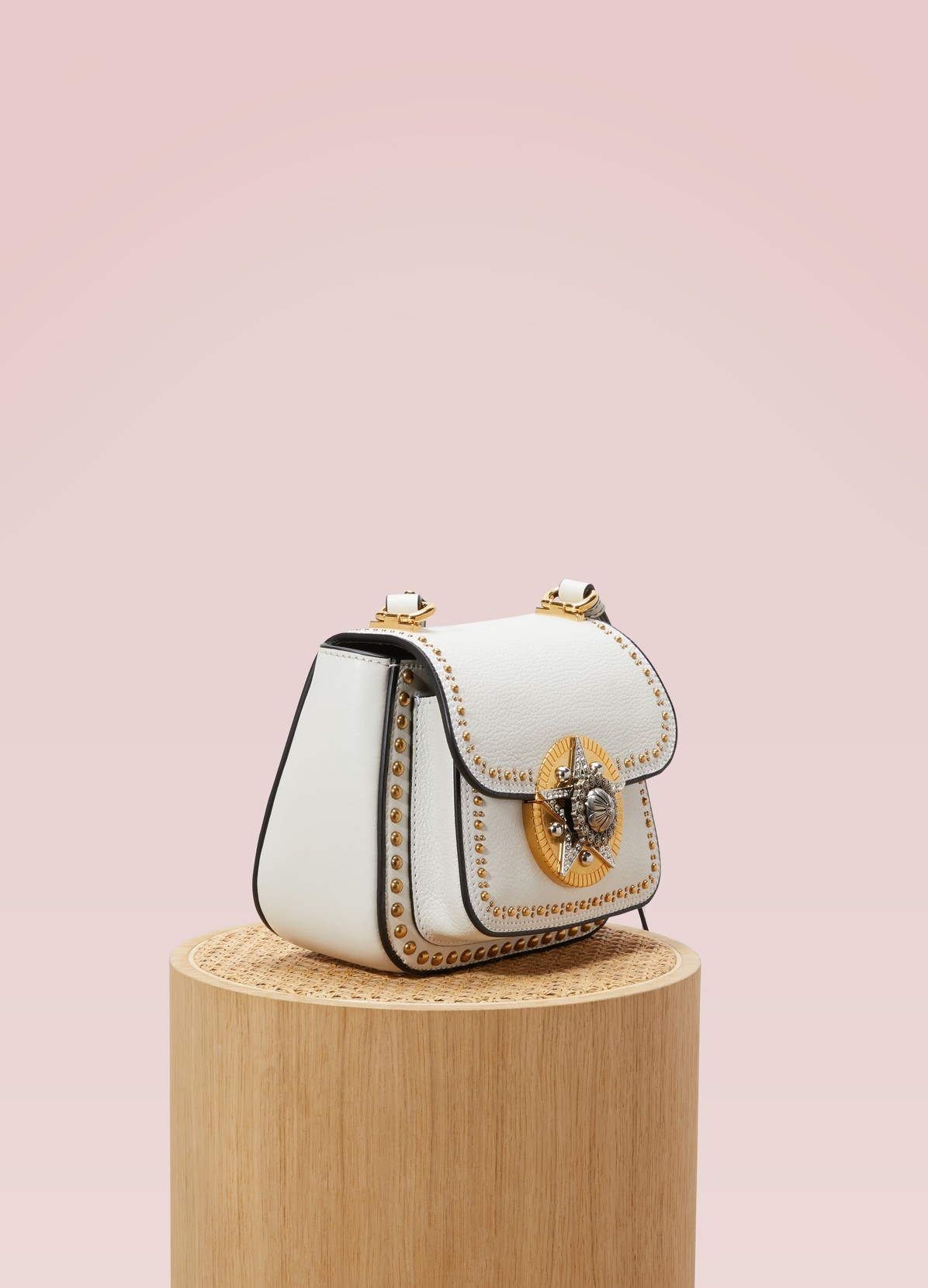 MIU MIU Dahlia star leather crossbody bag