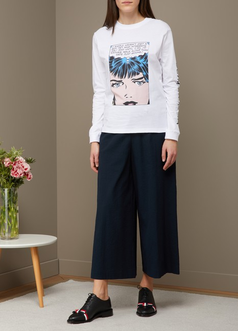 OLYMPIA LE TAN T-shirt Walk alone en coton