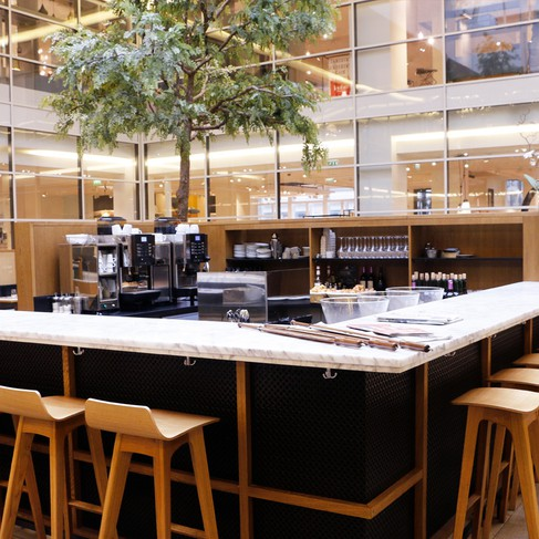 The Latte Cafe La Grande Epicerie