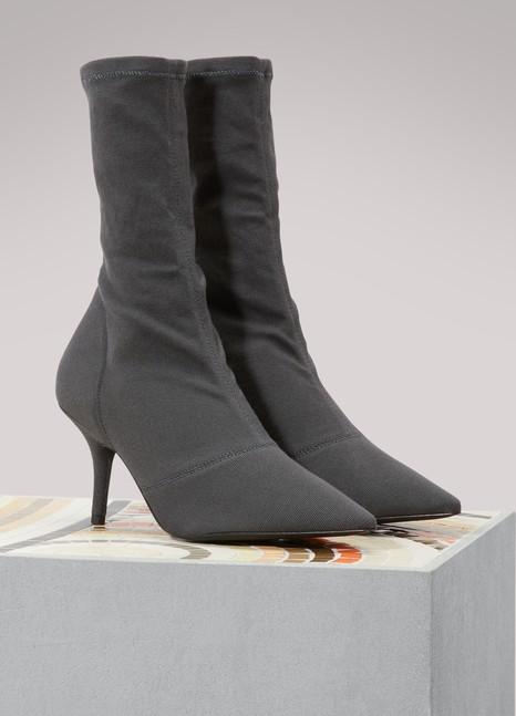 Nouvelle Version Magasin De Sortie Pour Yeezy Boots à talons en tissu stretch Meilleur Fournisseur Offres En Ligne Prix Ebay Pas Cher KKFKQ