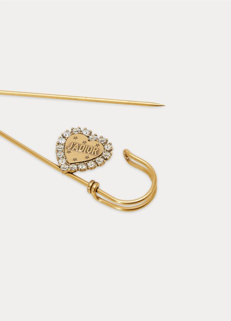 DiorL'Amour Avenir brooch in gold-plated metal
