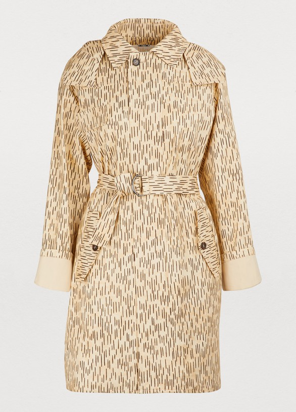 e6811734ca Printed trench coat