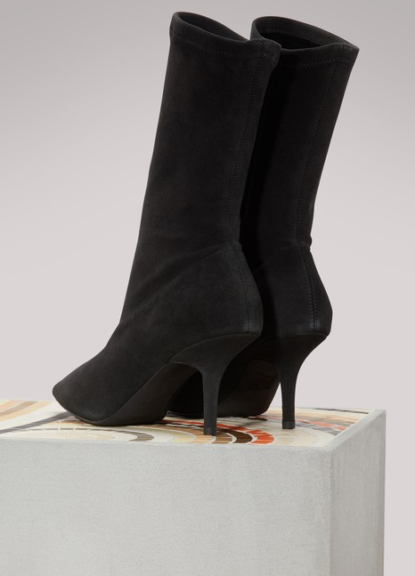 YeezySuede ankle bootie