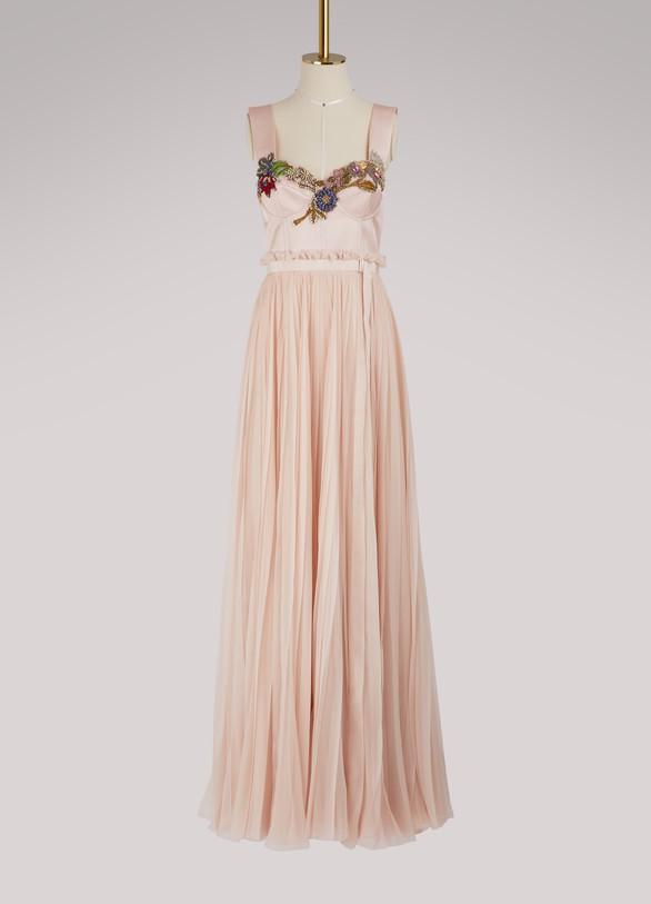 Alexander McQueenSilk maxi dress