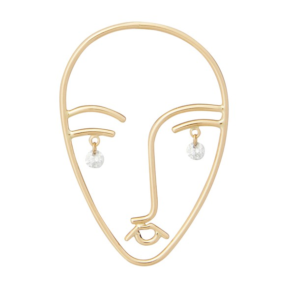 PERSEEFaces single earring