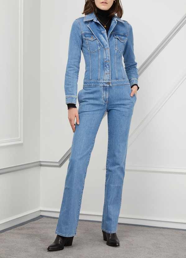 e1e7d1f10f ... Stella McCartney Denim jumpsuit ...