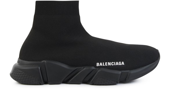 BALENCIAGA SPEED TRAINER MID BLACK Pinterest