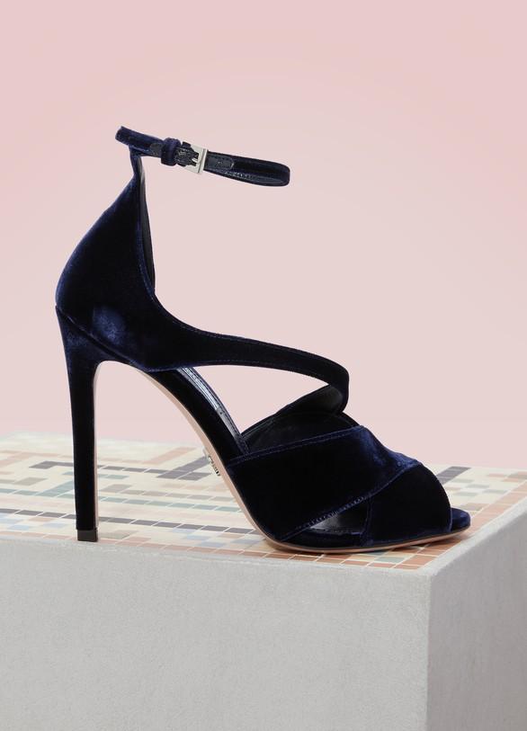 PradaVelvet Sandals