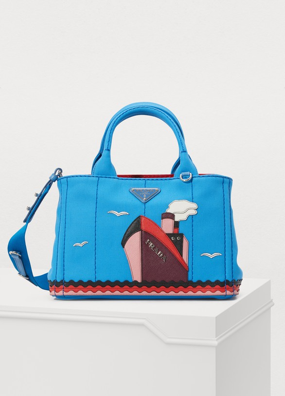 Prada Boat canvas handbag