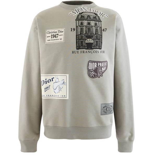 DIOR Dior Archive Patches sweater