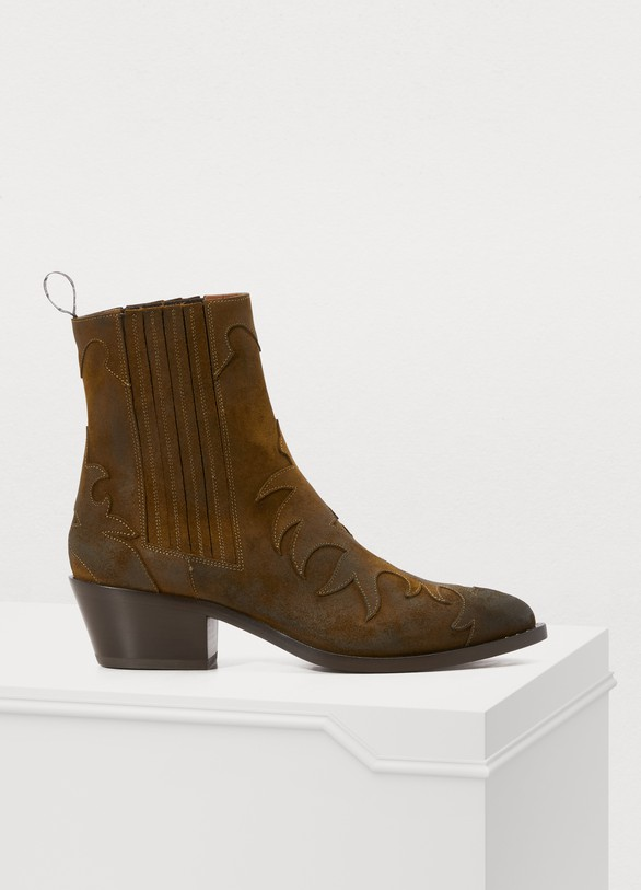 Sartore Flamm suede ankle boots
