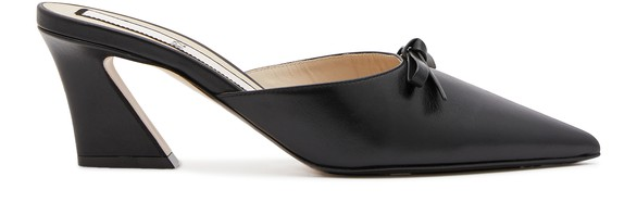 N 21 Leather mules