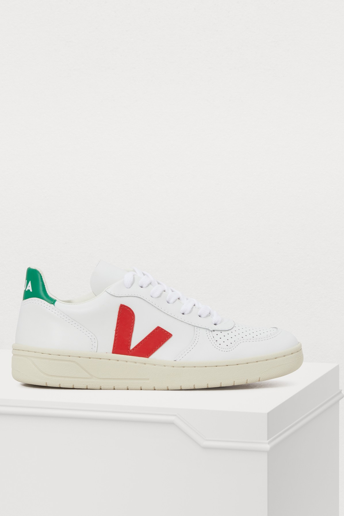 VEJA | V-10 Suede Sneakers | Goxip