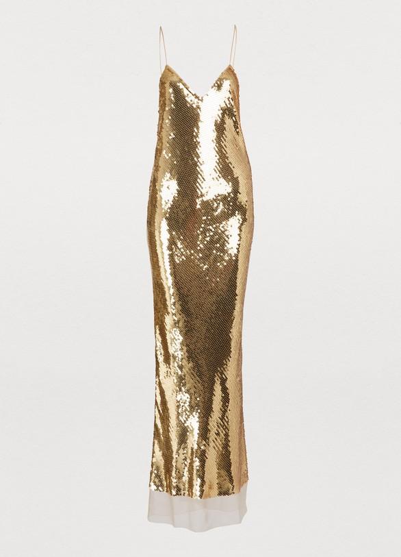 STELLA MC CARTNEYSilk maxi dress