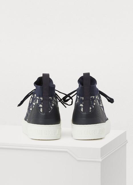 DiorSneaker Walk'n'Dior en maille technique Dior Oblique