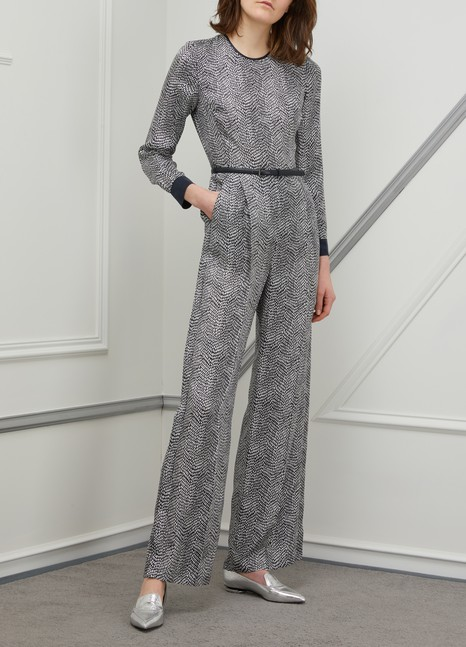 MAX MARA Alan silk jumpsuit