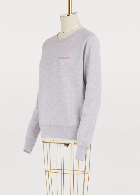 Maison LabicheAmour cotton sweatshirt
