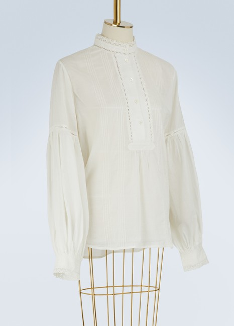 Paul & Joe H Scarlett blouse