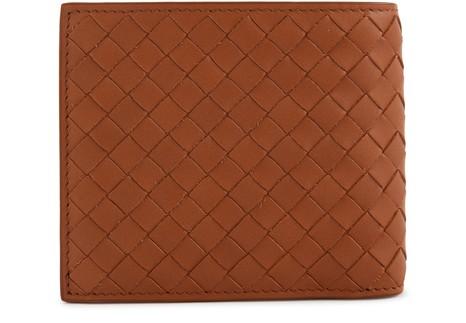 BOTTEGA VENETABifold leather wallet