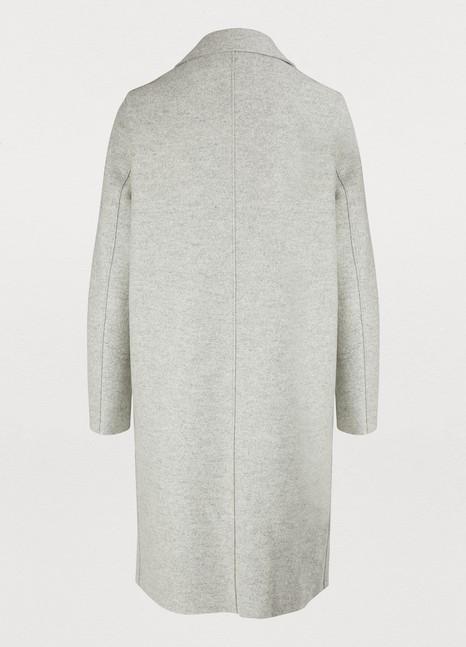HARRIS WHARF LONDONManteau en laine pressée