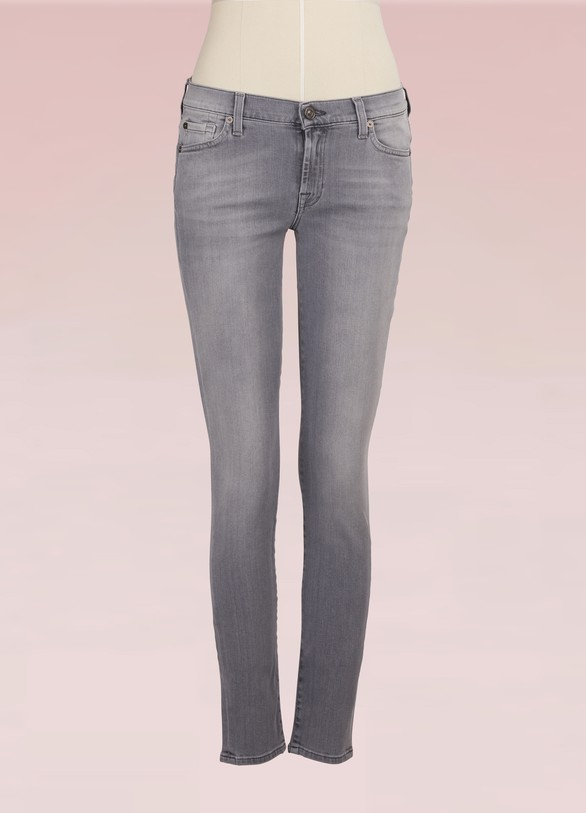 7 For All MankindCotton Skinny Jeans