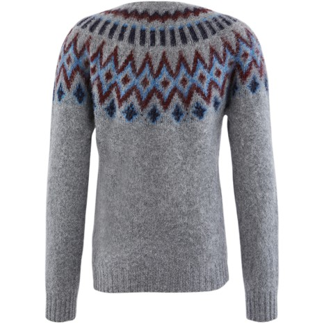 HOWLIN'Jacquard jumper