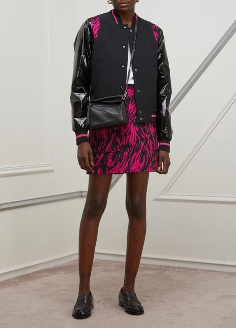 N 21Printed short skirt