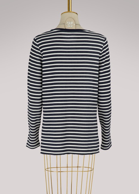 Majestic Filatures Striped sweatshirt