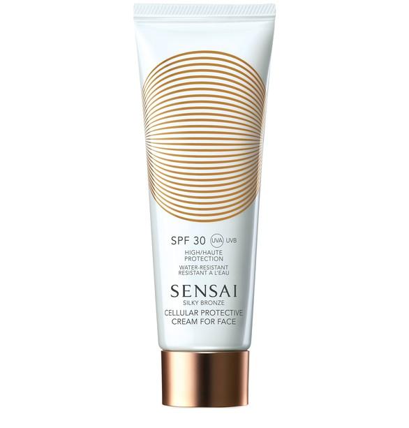 SENSAISilky Bronze Cellular Protective Cream for Face SPF 30