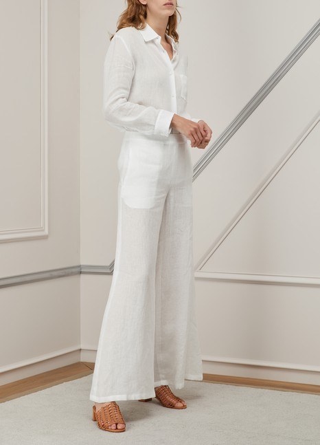 Mansur GavrielOversized linen pants