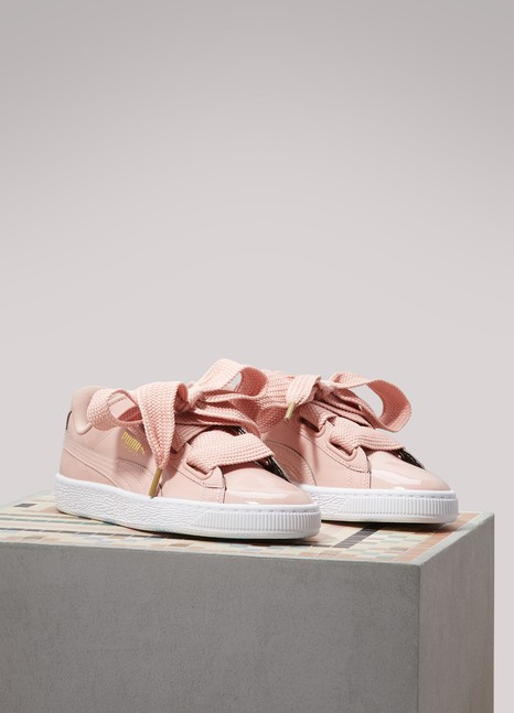 PumaPatent leather Heart sneakers