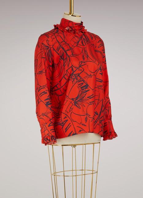 RoseannaLeader silk blouse