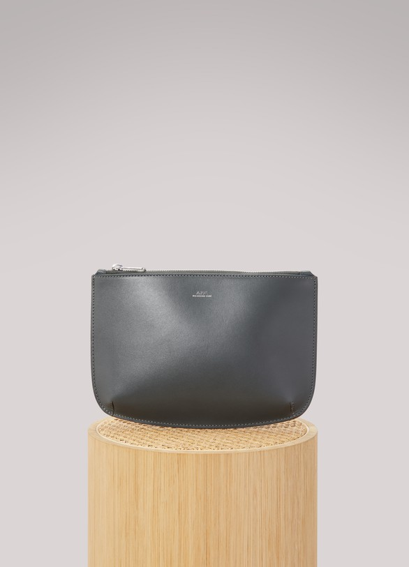 A.P.C. Leather Sarah pouch