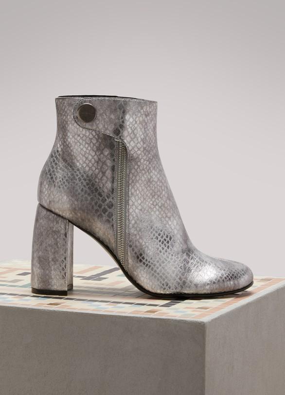 Vente À La Mode Stella McCartney Bottines en alter serpent incroyable Mastercard En Ligne Prix pas Cher De Qualité w98U9Nlzj