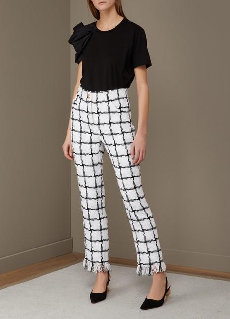 BalmainPlaid pants