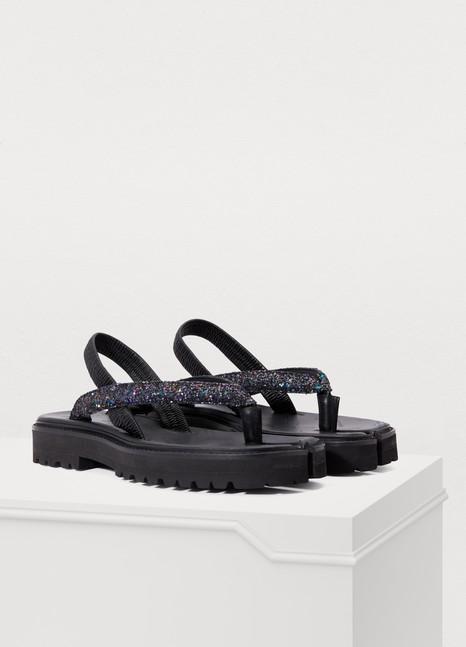 MAISON MARGIELAGlitter sandals