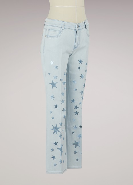 Stella McCartney Jean étoilé Kick