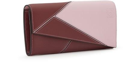 LOEWEPuzzle Continental purse