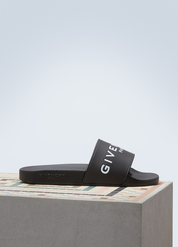 Givenchy Sandales Slide Givenchy Paris