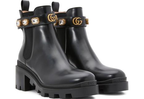 GUCCIGemstone Chelsea boots