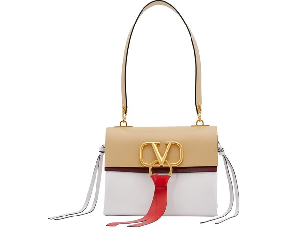 Valentino Garavani Vee Ring Shoulder Bag by Valentino