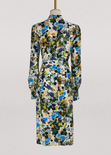 Amelia long sleeves dress Erdem MmrcKPR