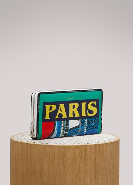 BalenciagaPortefeuille zip around Paris
