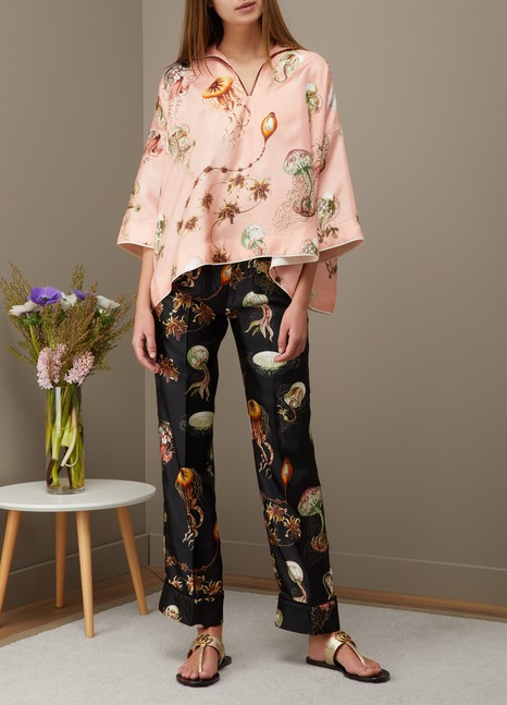 F.R.S For Restless SleepersCeo silk trousers