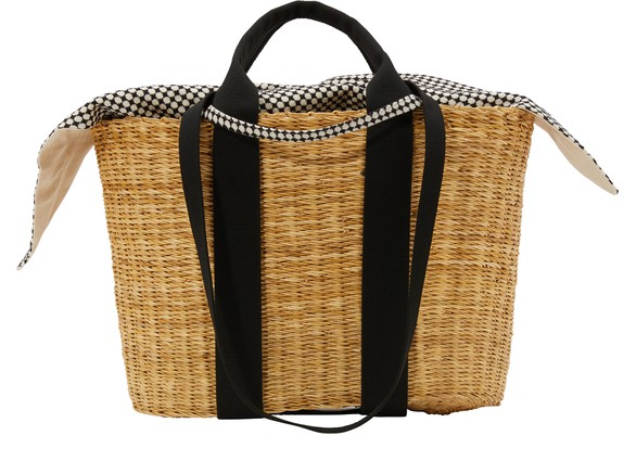 MUUNP HDL basket bag with pouch