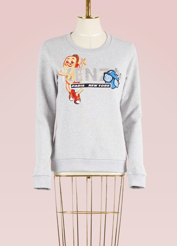 Kenzo Hot Dog Cotton Sweatshirt