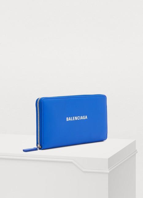 """Balenciaga""""Everyday"""" continental wallet"""